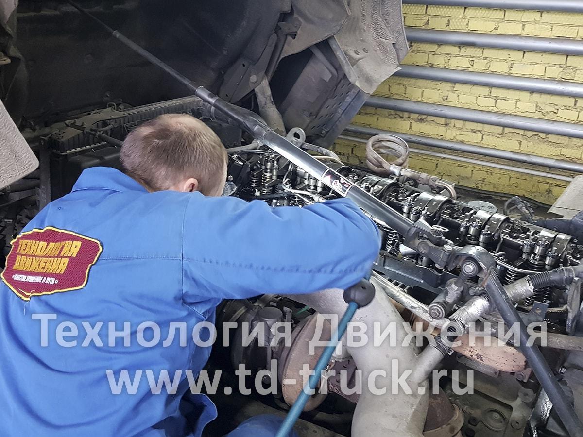регулировка клапанов камаз 5490 с двигателем мерседес